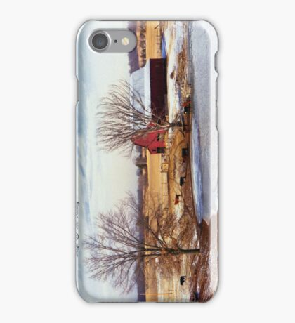Winter Farm  iPhone Case/Skin