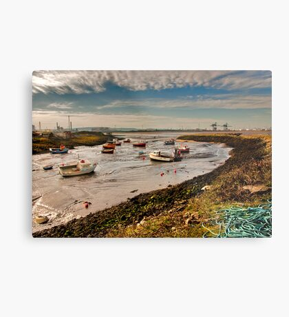 The Tide is Out Metal Print