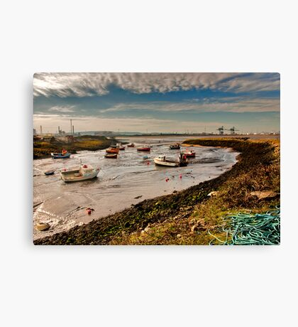 The Tide is Out Canvas Print
