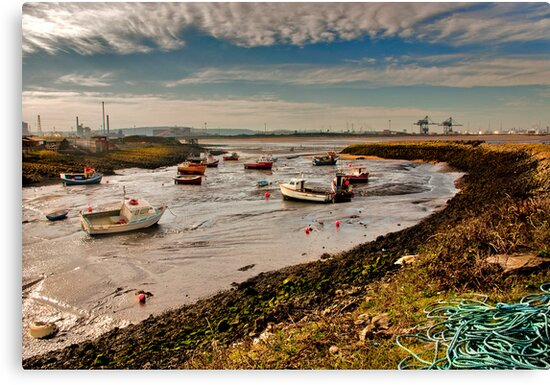 The Tide is Out by Trevor Kersley