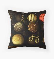 Ultimate Dessert Truffles Throw Pillow