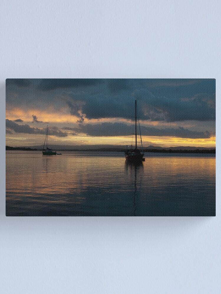 Alternate view of Stradbroke  Island Canvas Print