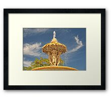 Cherubs in the Retiro Framed Print