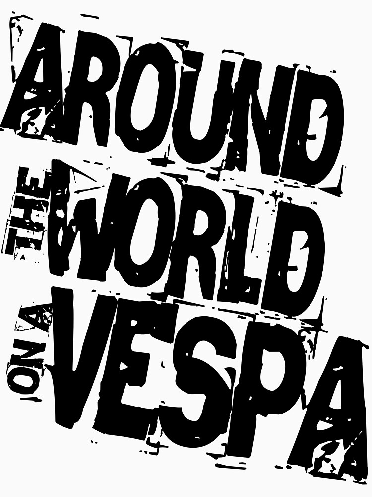 RTW on Vespa by worldvespa