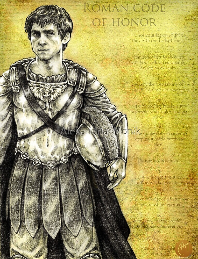 Roman Code of Honor by Alexandria  Monik