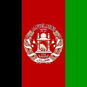 Afghanistan Flag by ranc1