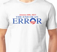 Barack Obama-The End of an Error Unisex T-Shirt