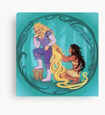Genderbent Princesses Canvas Print