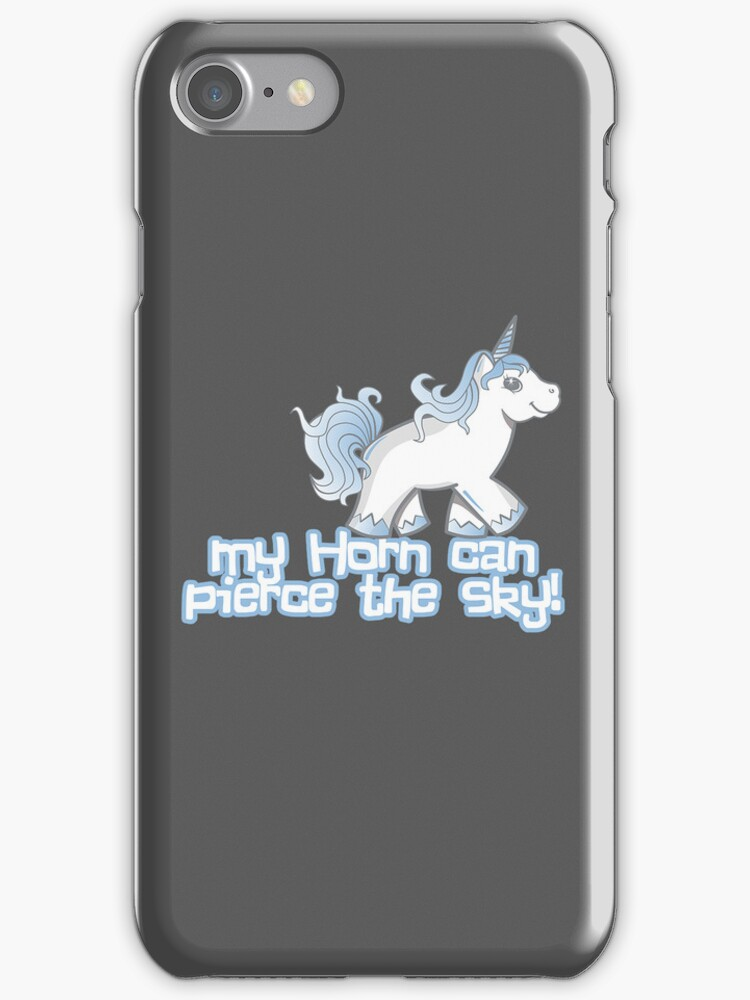 My Horn Can Pierce the Sky! by fishbiscuit