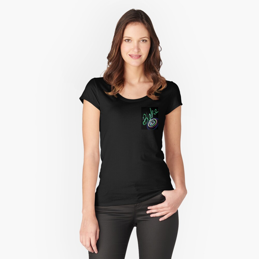 Blake Women's Fitted Scoop T-Shirt Front