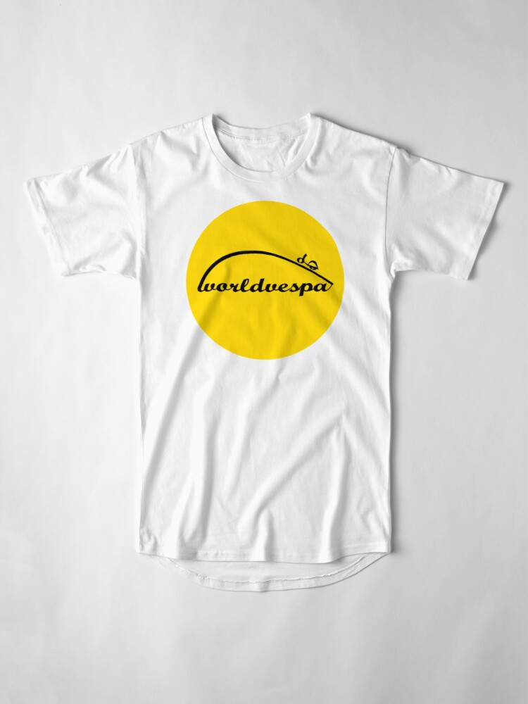 Alternate view of Worldvespa Logo Long T-Shirt
