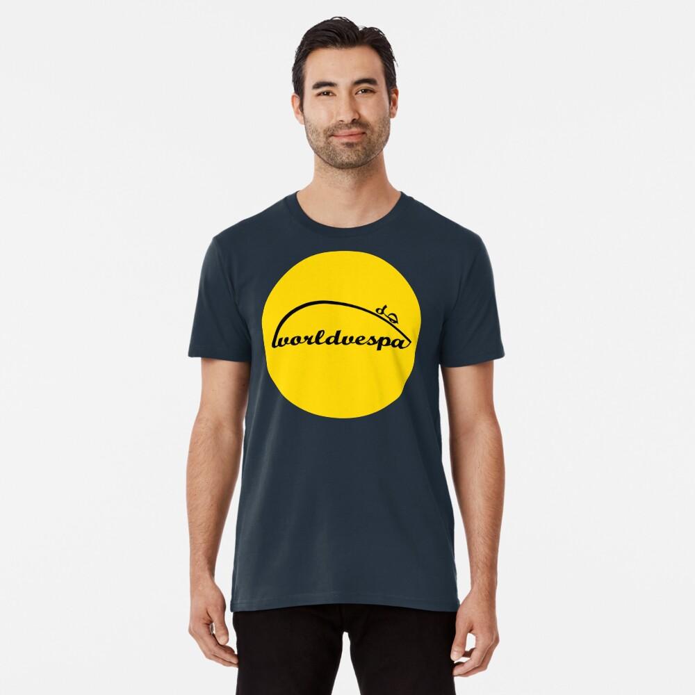 Worldvespa Logo Premium T-Shirt