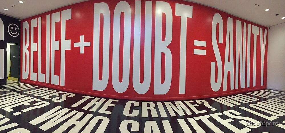 DOUBT by shoot2print