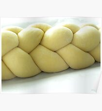 Braided Challah Poster