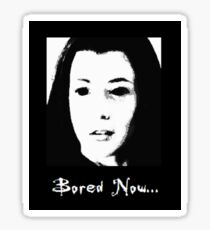 BtVS Dark Willow Bored Now Sticker