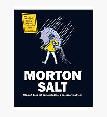 Morton Salt Photographic Print