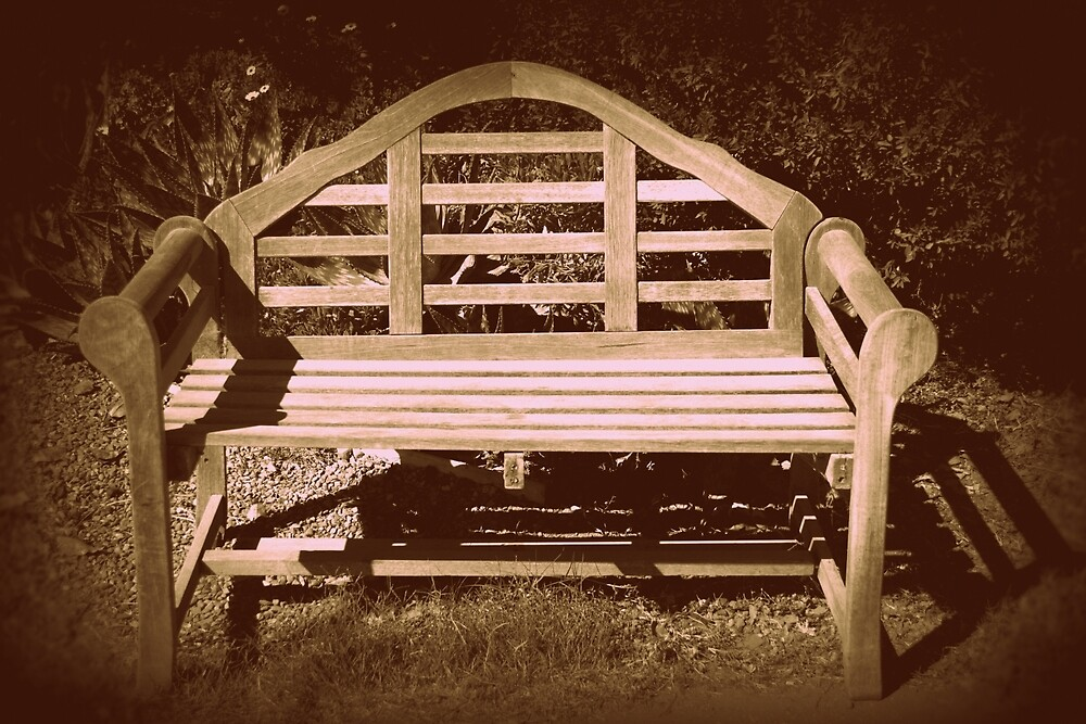 Park Bench by SusanHope