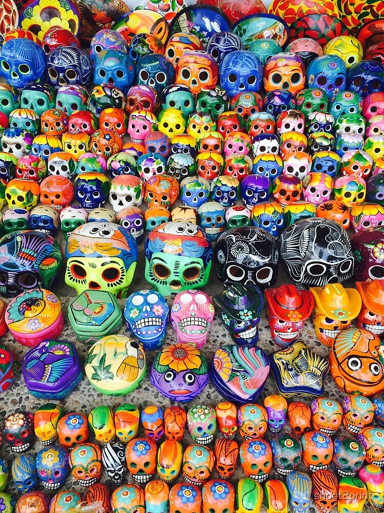 Day of the Dead Skulls by shoot2print