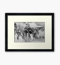 Fire and Smoke  Framed Print