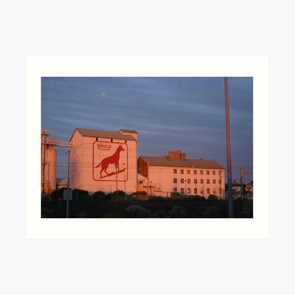 Dingo Flour Mill Fremantle Western Australia Art Print