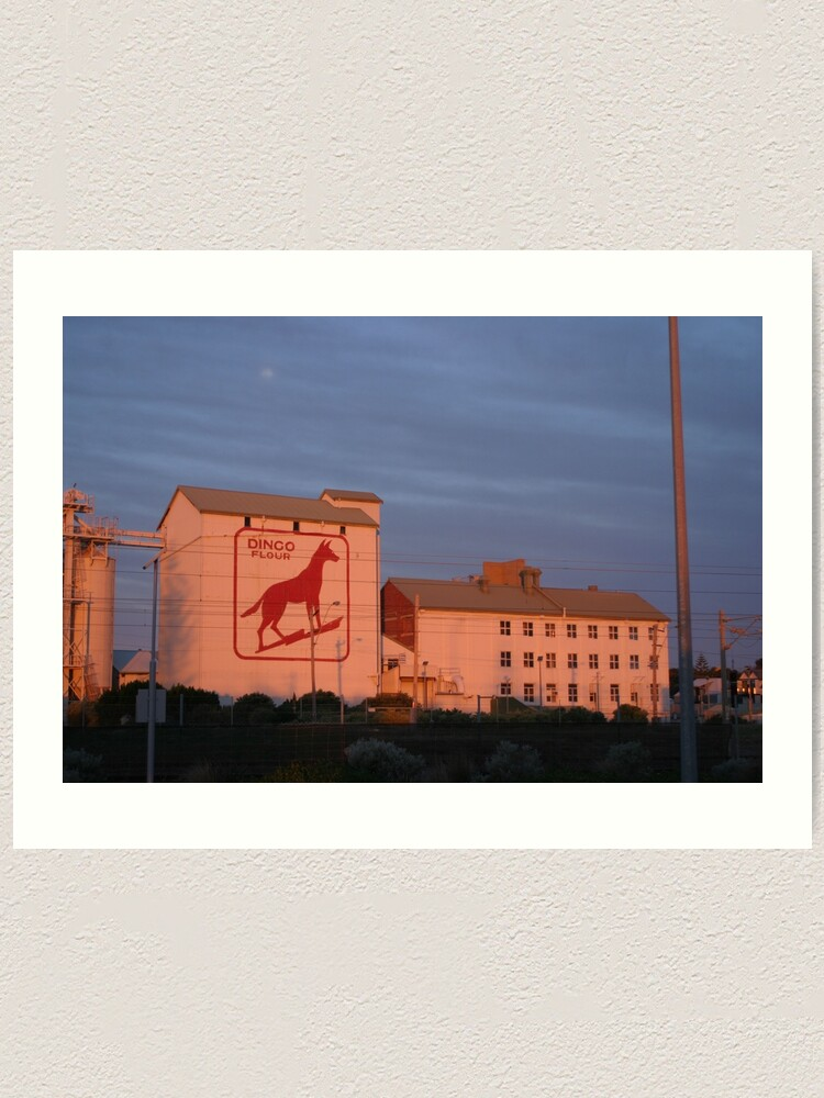 Alternate view of Dingo Flour Mill Fremantle Western Australia Art Print