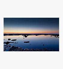 Sunrise, Newcastle Au Photographic Print