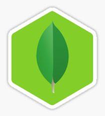 MongoDB inside of Node.js Sticker