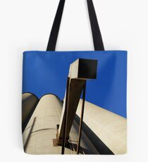 Lost in Lawrence. With a camera. Grain drain. Tote Bag