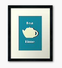Tea Time (Minimalist) Framed Print