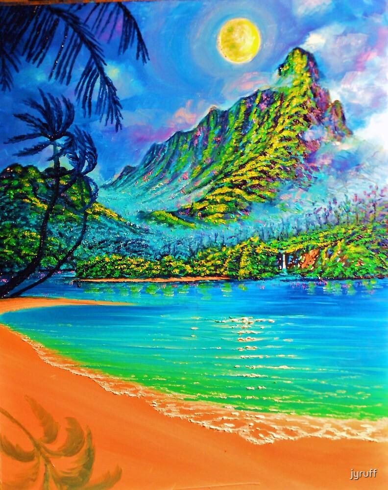 Moonlit Lagoon wip 3 by jyruff