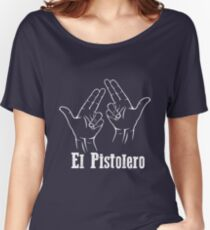 El Pistolero _White Women's Relaxed Fit T-Shirt