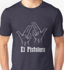 El Pistolero _White Unisex T-Shirt