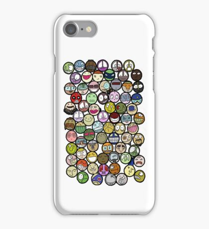 72 Faces iPhone cover iPhone Case/Skin