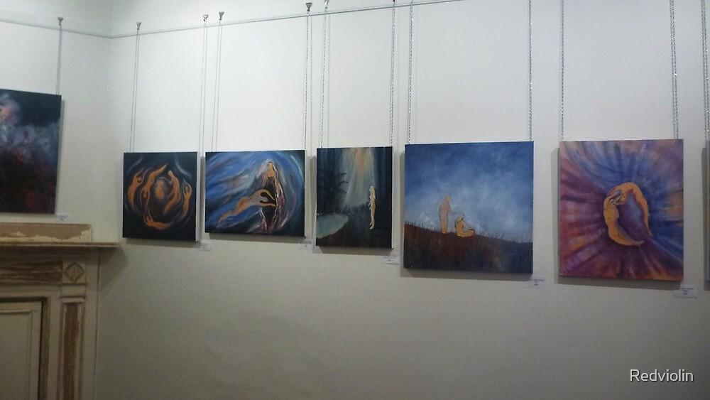 My exhibition  by Redviolin