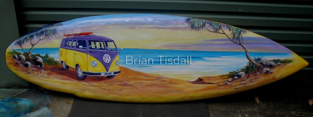 surfboard no 14 by Brian Tisdall
