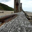 Groynes at Happisburgh by Emily Clarke