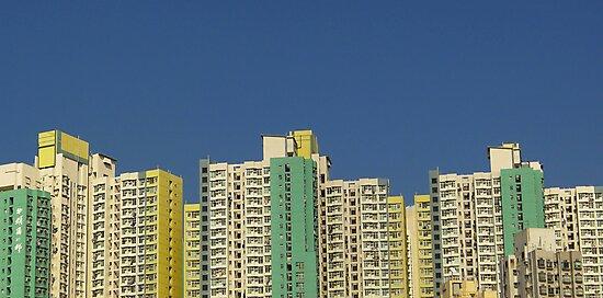 Buildings, Kowloon, Hong Kong by Cara Gallardo Weil