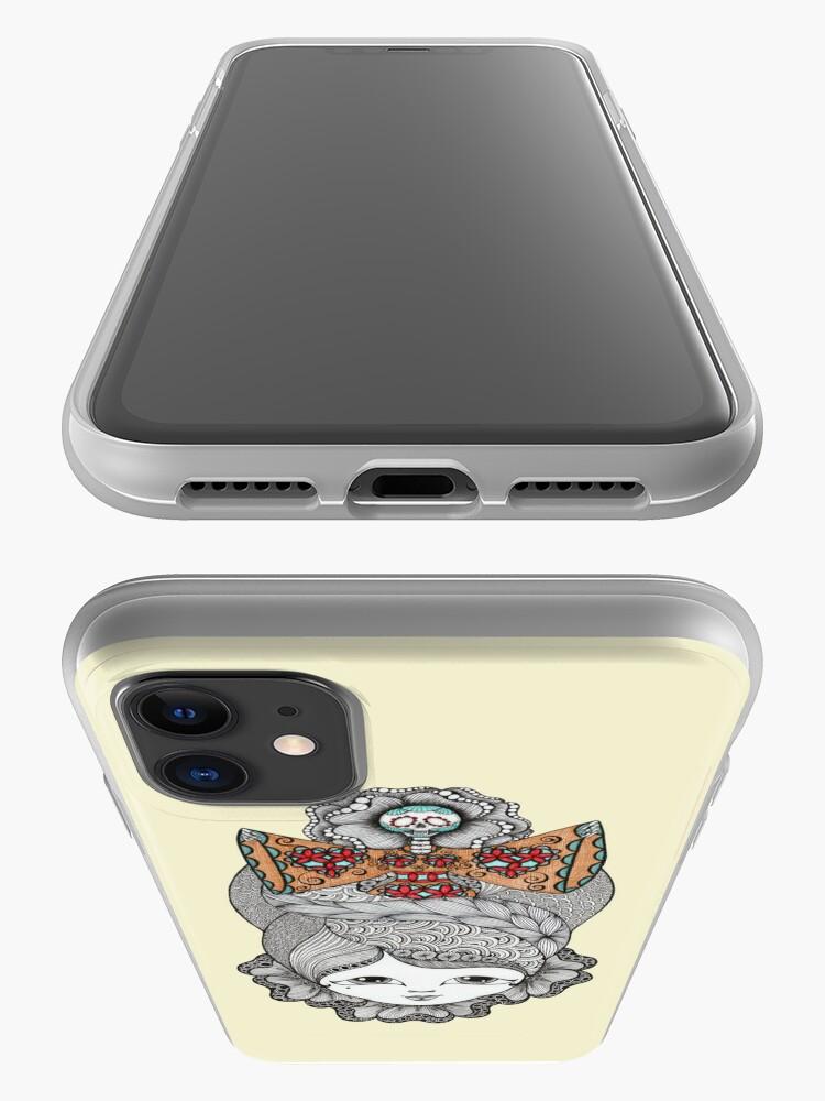 Alternate view of Hair-raising iPhone Case & Cover