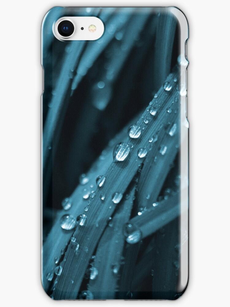 Blue waterfall (iPhone case) by Lenka