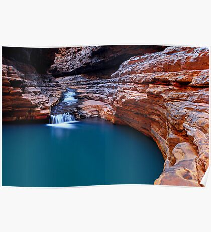 The Sanctuary - Kermits Pool - Hancock Gorge - Karijini NP Poster