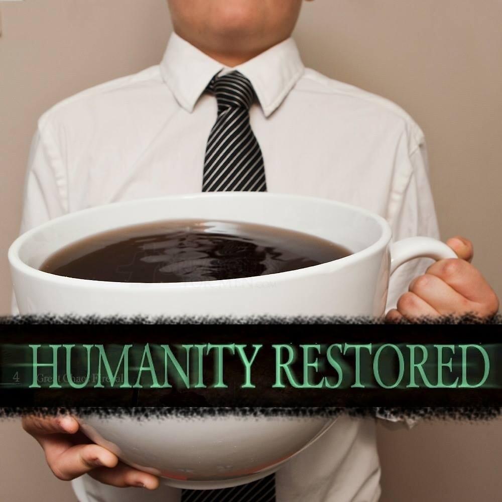 Humanity Restored by jonmokoko