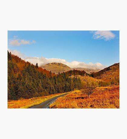 Duddon Valley Autumn Photographic Print