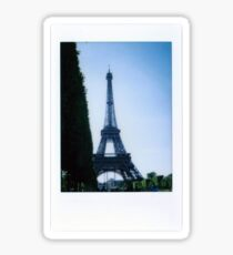 Eiffel Tower Polaroid Sticker