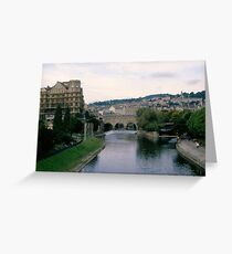 Bath England Greeting Card