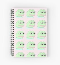 Pepe the Frog Spiral Notebook