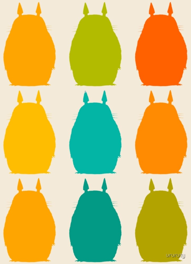 Totoro colors by ururuty