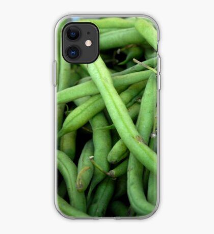 Green Beans - iPhone Case iPhone Case