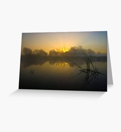 Misty Dawn 4.0 Greeting Card