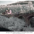 Infrared train station by Beverly Cash
