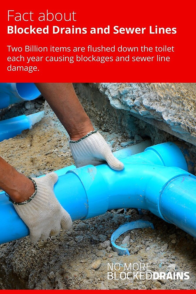 Fact about Blocked Drains and Sewer Lines by cheapblockeddr